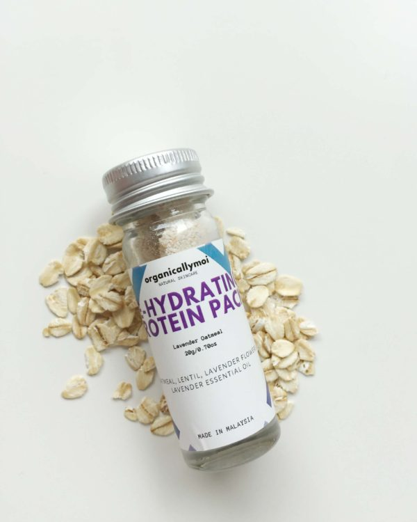 Organically Moi, Rehydrating Protein Pack Lavender Oatmeal   www.mymiracolo.com